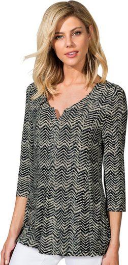 Ambria Shirt im zarten Wellen-Dessin