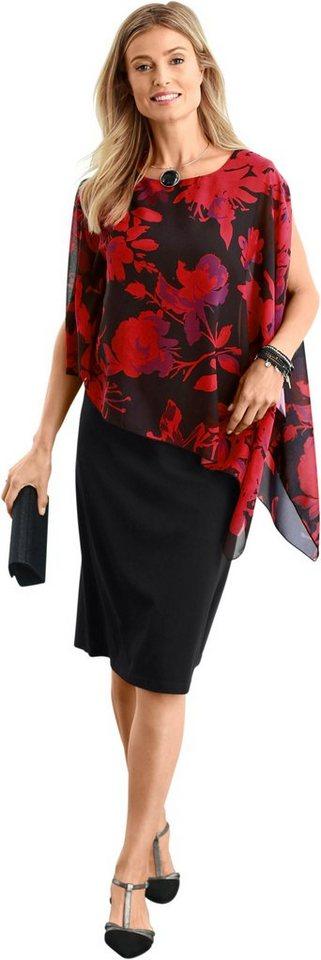 Damen Classic Basics Kleid in Etuiform schwarz | 08903340992252