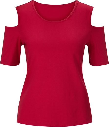 Lady Shirt mit Seitenschlitze