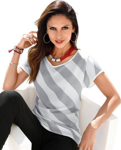 Classic Inspirationen Blusenshirt in gewebter Crêpe-Qualität vorne
