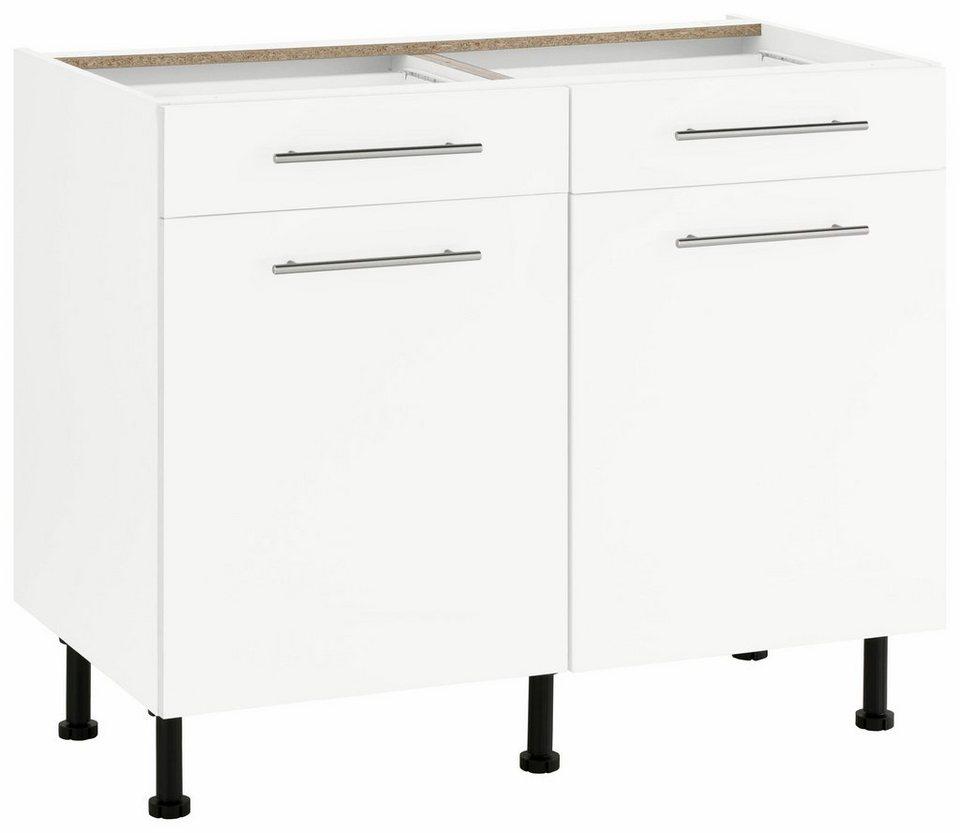 wiho Küchen Unterschrank »Ela« Breite 100 cm | OTTO