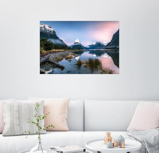 Posterlounge Wandbild - Matteo Colombo »Milford Sound, Neuseeland«