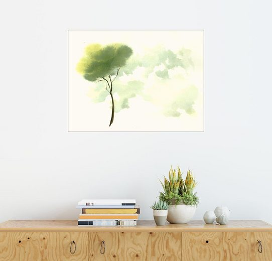 Posterlounge Wandbild - Dearpumpernickel »Einsamer Baum«