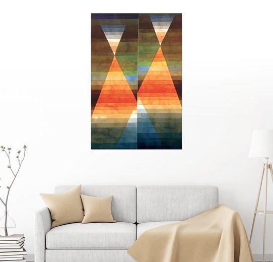 Posterlounge Wandbild - Paul Klee »Doppelzelt«