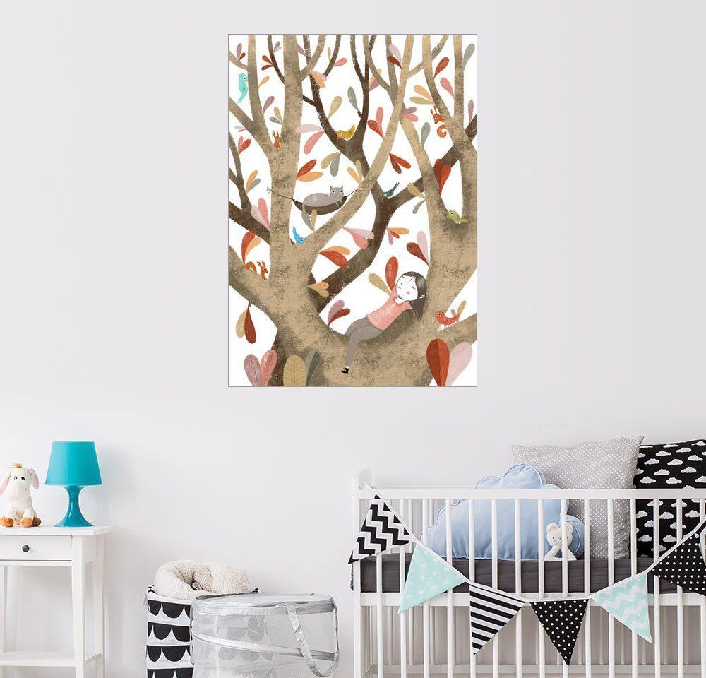 Posterlounge Wandbild - Judith Loske »Im Baum Nr. 2«