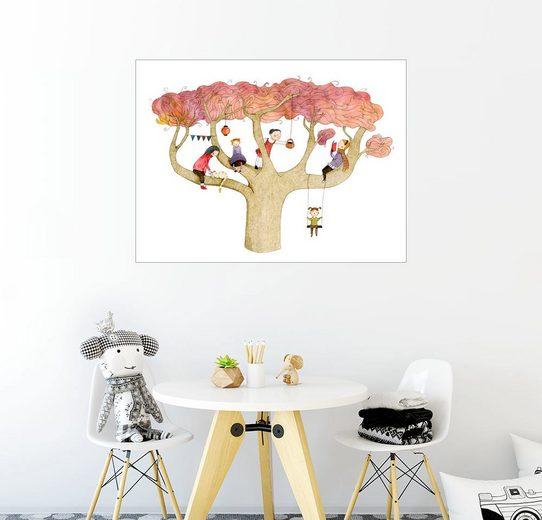 Posterlounge Wandbild - Judith Loske »Herbstbaum«