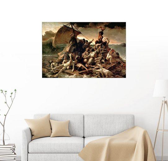 Posterlounge Wandbild - Theodore Gericault »Floß der Medusa«
