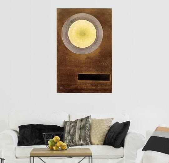 Posterlounge Wandbild - Wassily Kandinsky »Elementare Wirkung«