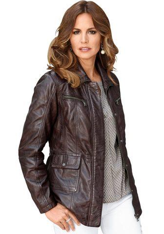 MAINPOL Classic Inspirationen куртка кожаная в...