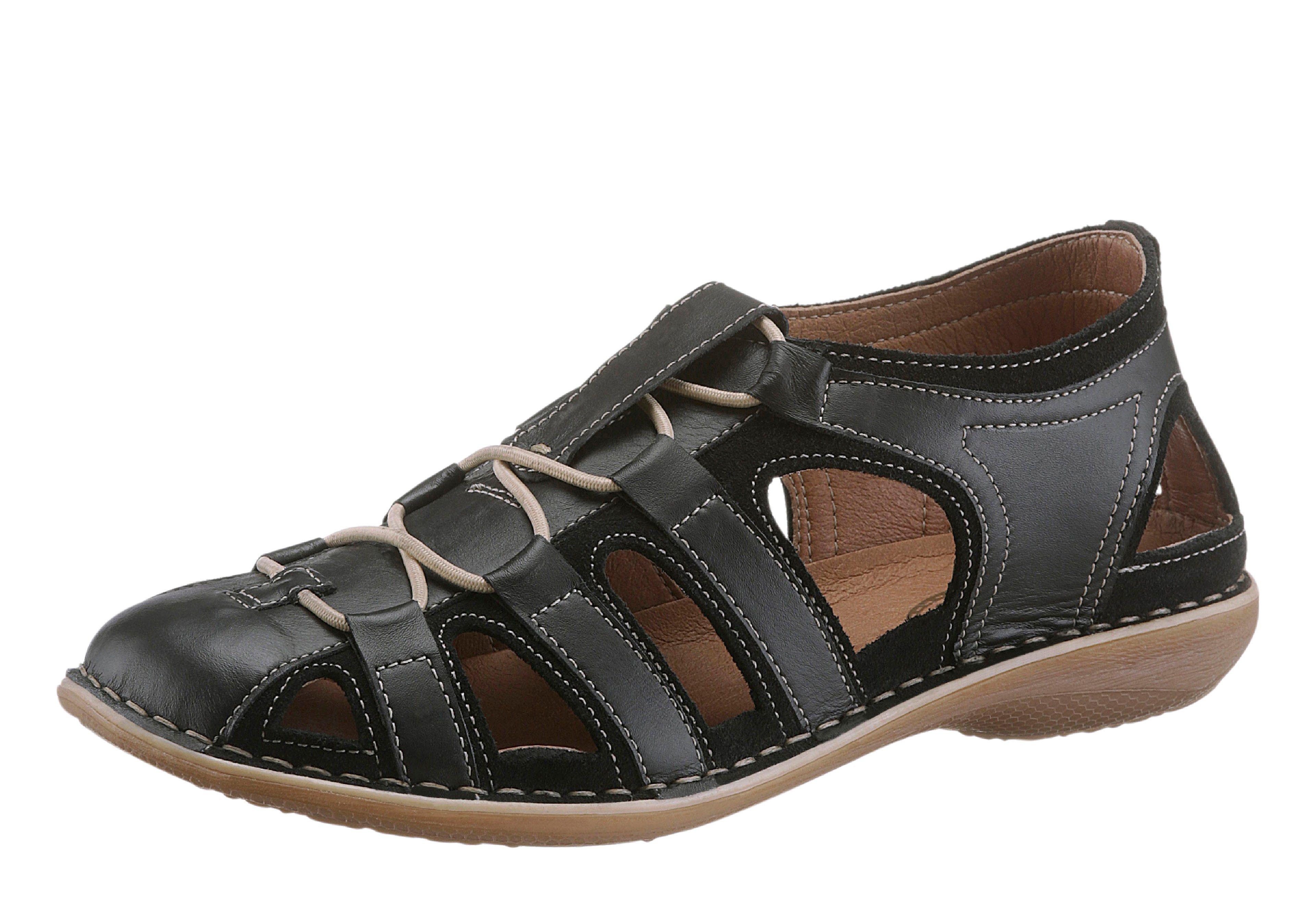 Corkies Sandalette mit rutschhemmender und flexibler PU-Laufsohle   Schuhe > Sandalen & Zehentrenner > Sandalen   Pu   Corkies