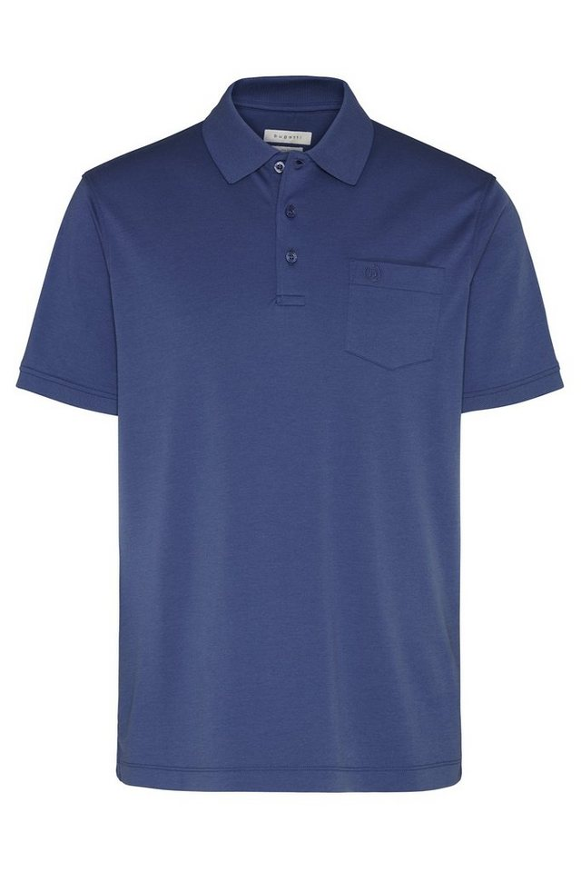 bugatti -  Poloshirt in bügelfreier Ware