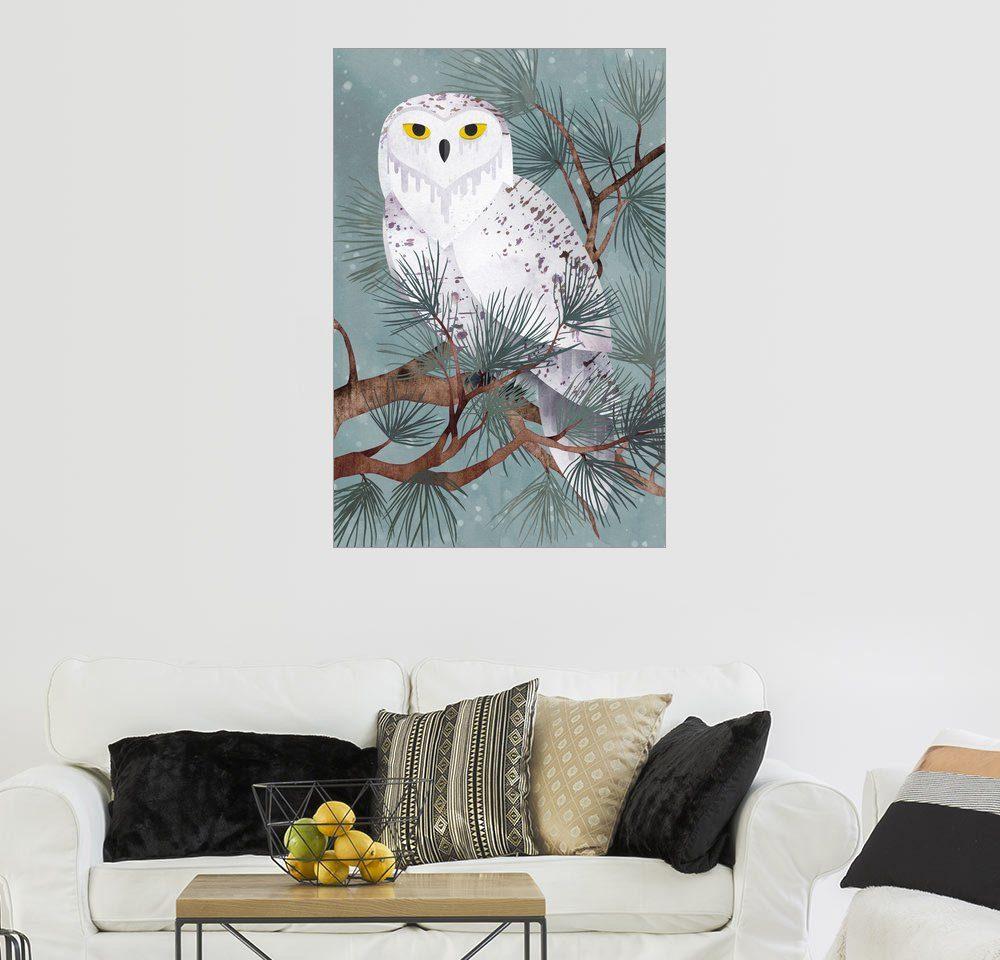 Posterlounge Wandbild - littleclyde »Snowy«