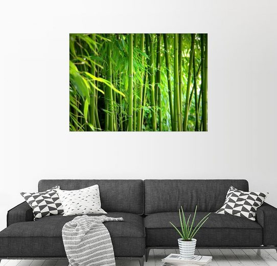 Posterlounge Wandbild - Gabi Siebenhühner »Bambus«