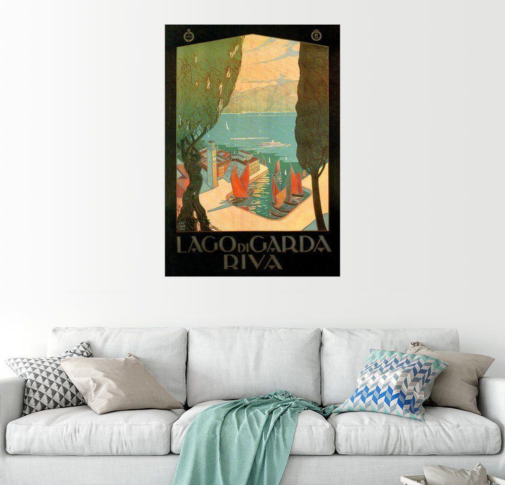 Posterlounge Wandbild »Italien - Riva am Gardasee«