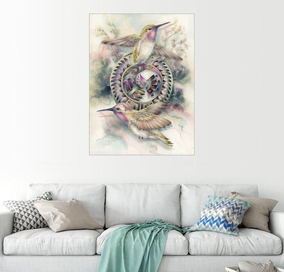 posterlounge wandbild jody bergsma tanzende fl gel online kaufen otto. Black Bedroom Furniture Sets. Home Design Ideas