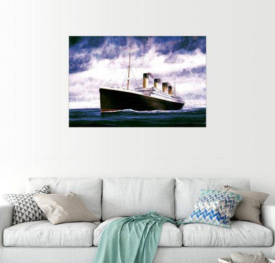 Posterlounge Wandbild - Francis Mastrangelo »RMS Titanic«