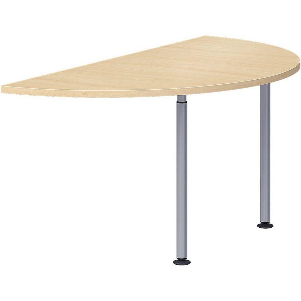 Wellemöbel Ansatztisch halboval 160 cm »Hyper« | OTTO