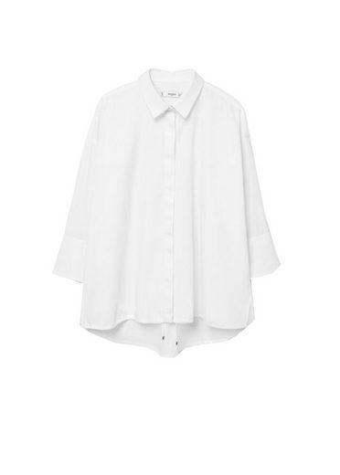 MANGO Popeline-Hemd