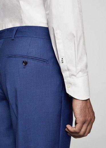 MANGO MAN Strukturierte Slim Fit Anzughose