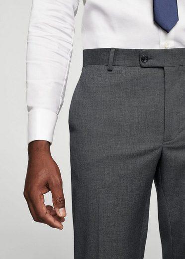 MANGO MAN Melierte Slim Fit Anzughose