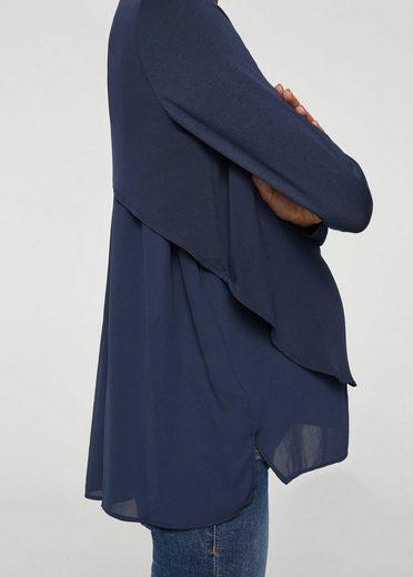 MANGO Doppellagige Bluse