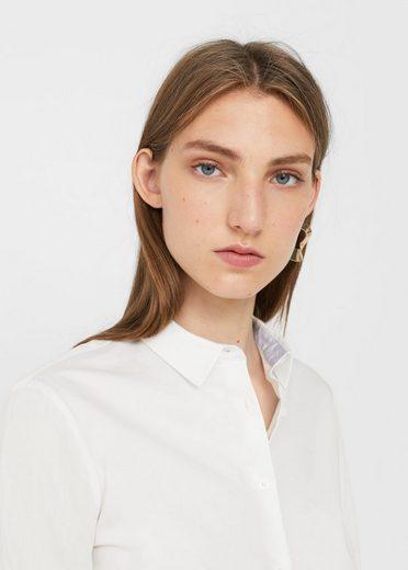 MANGO Hemd aus Baumwoll-Mix