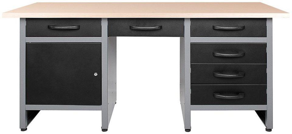 ondis24 werkbank harry 170 cm h henverstellbar otto. Black Bedroom Furniture Sets. Home Design Ideas