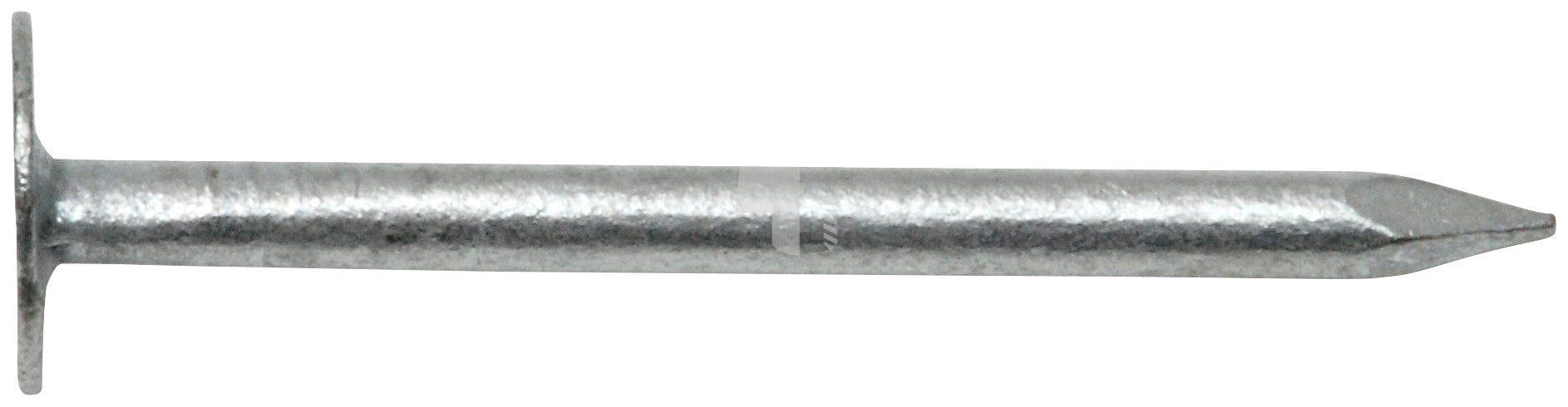 RAMSES Nagel , Dachpappstifte DIN 1160 2,5 x 35 mm Stahl feuerverzinkt