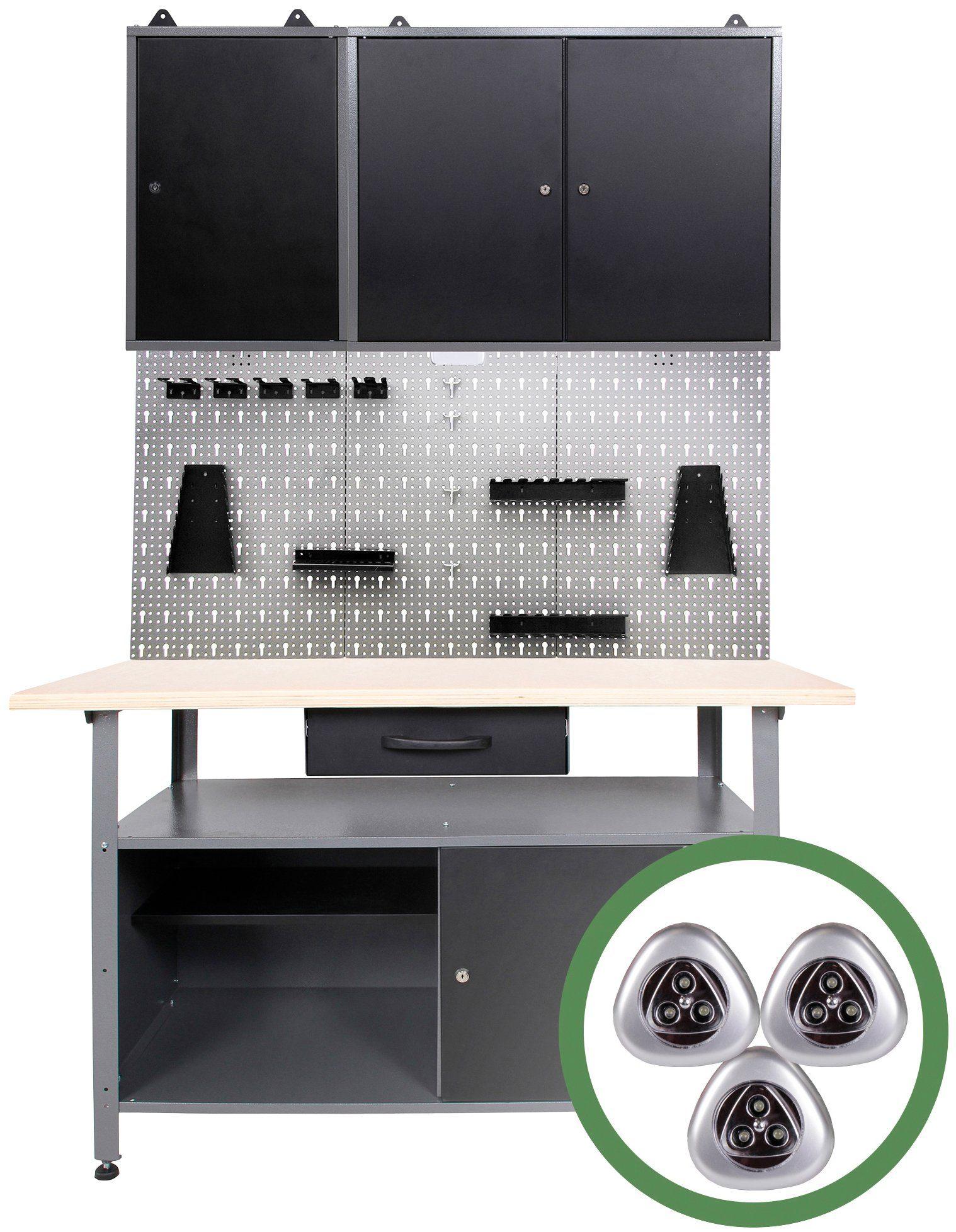 ONDIS24 Werkstatt-Set , 120 cm
