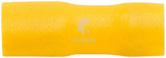 RAMSES Flachsteckhülsen , vollisoliert gelb 4 - 6 mm² 6,3 x 0,8 100 Stück