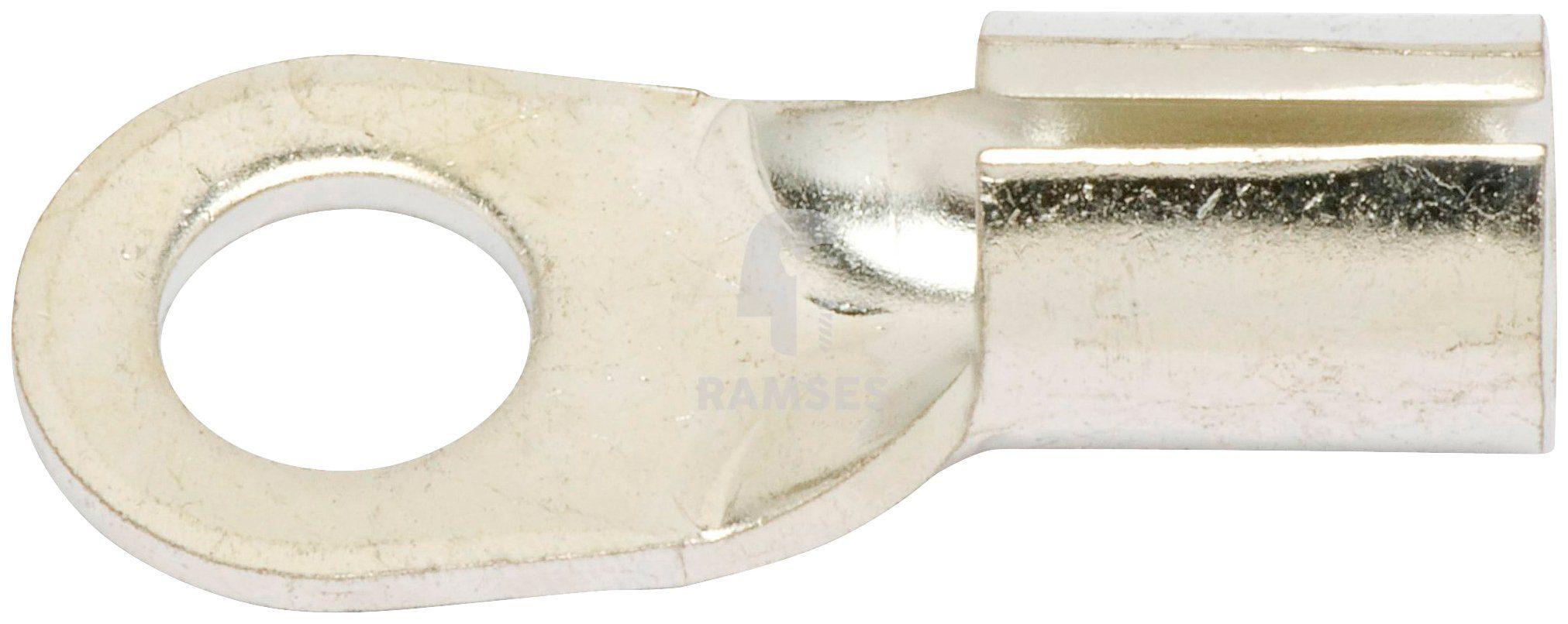 RAMSES Lötkabelschuh , DIN 46211 M6 15 mm² 25 Stück