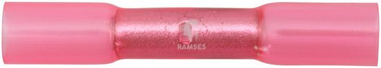 RAMSES Stoßverbinder , rot 0,5 - 1,5 mm² Polyolefin 50 Stück