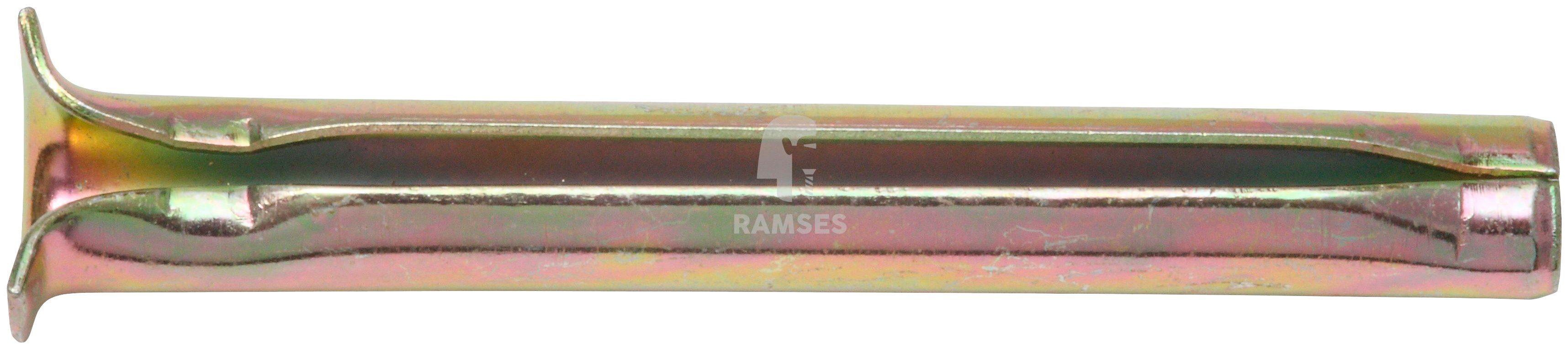 RAMSES Dübel , Spannstift 6 x 60 mm, gelb chromatiert 100 Stück