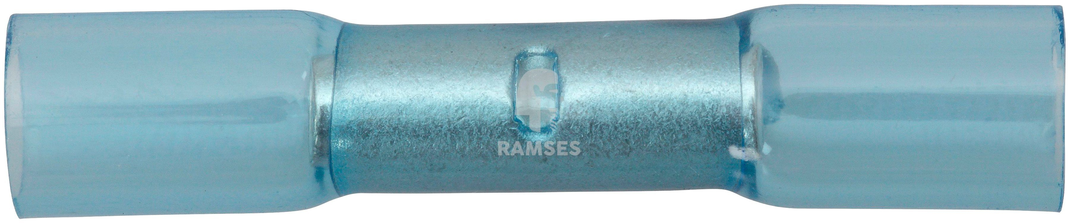 RAMSES Stoßverbinder , blau 1,5 - 2,5 mm² Polyolefin 50 Stück