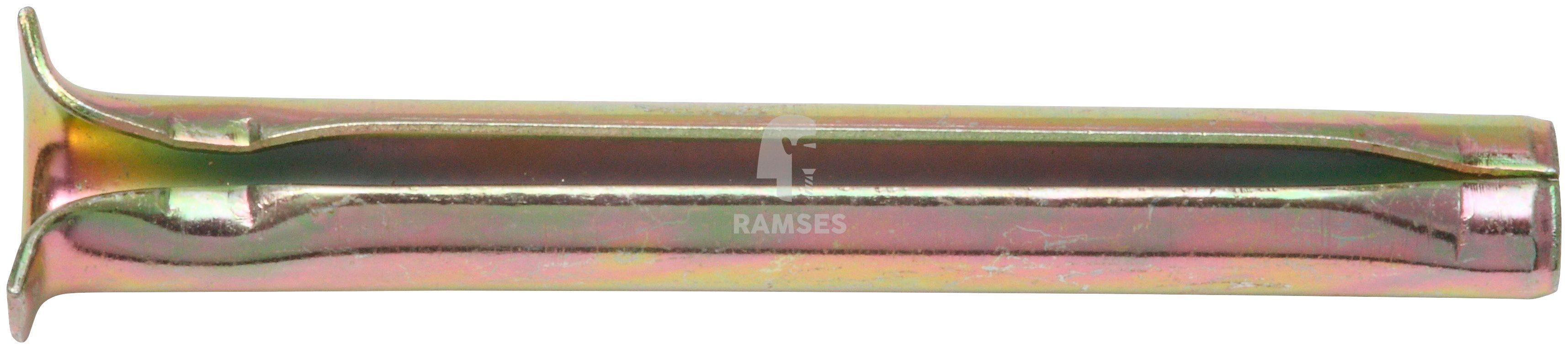 RAMSES Dübel , Spannstift 8 x 90 mm, gelb chromatiert 100 Stück