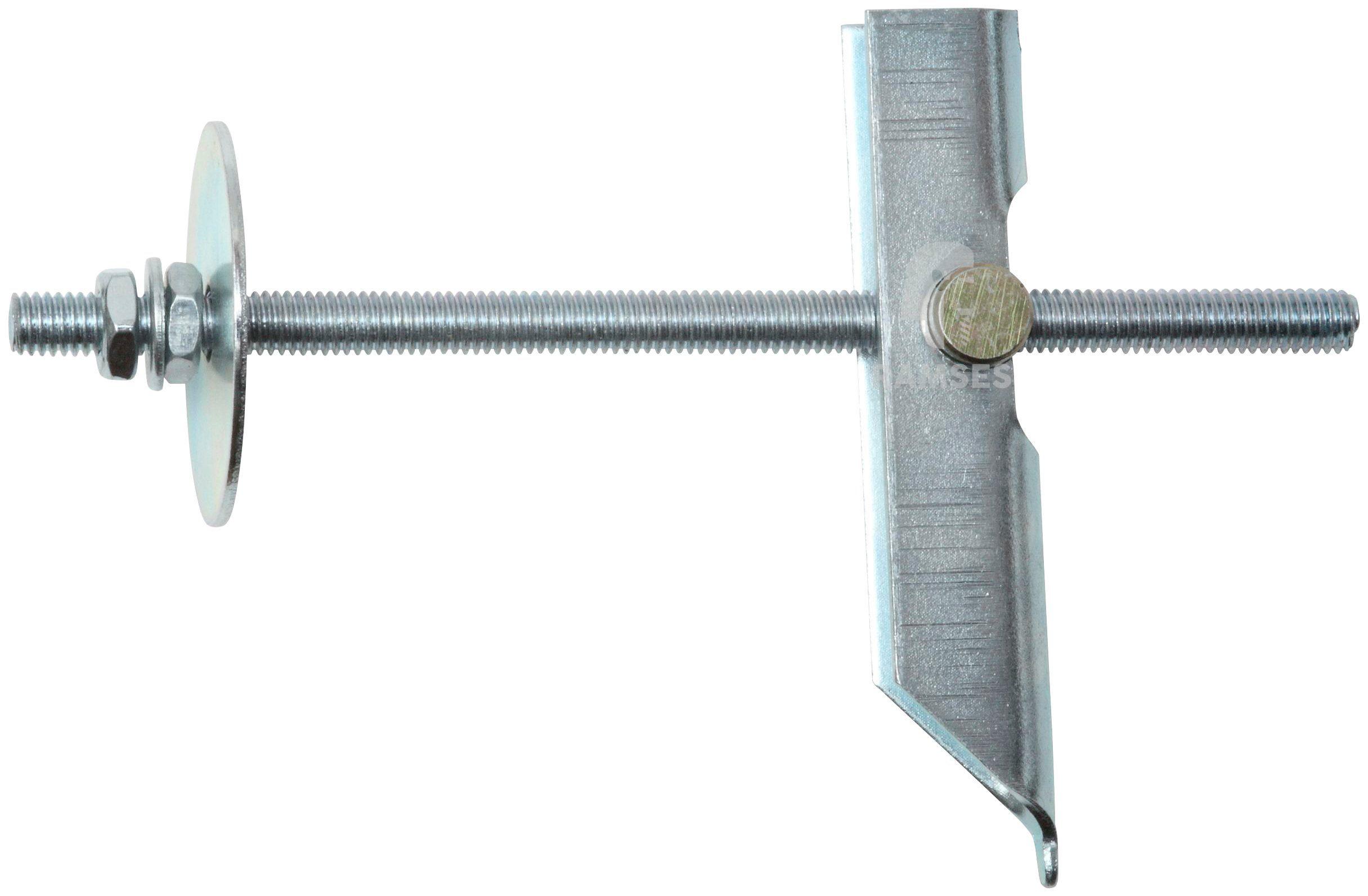 RAMSES Dübel , Kippdübel mit Haken M6 x 100 mm, 50 Stück