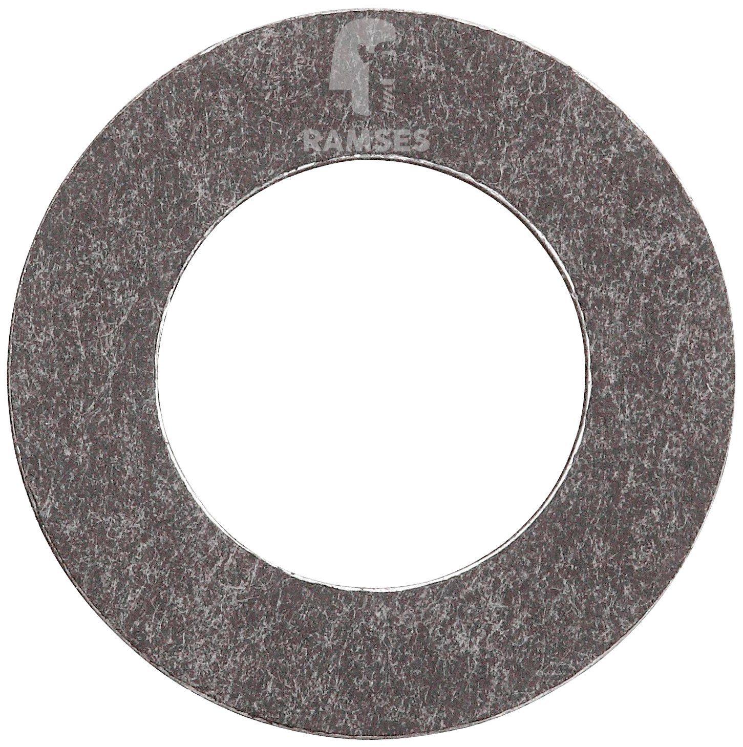 RAMSES Dichtring , DIN 7603 Form A 12 x 21 x 1,0 mm Alu verzinkt 100 Stück