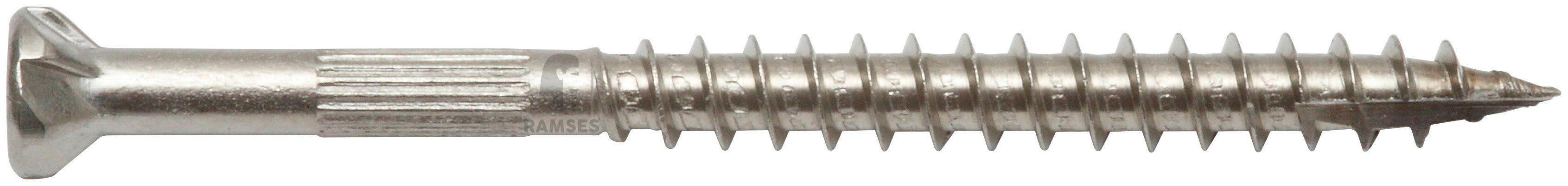 RAMSES Schrauben , Zaunschraube 4,5 x 50 mm mit Bit 150 Stk.