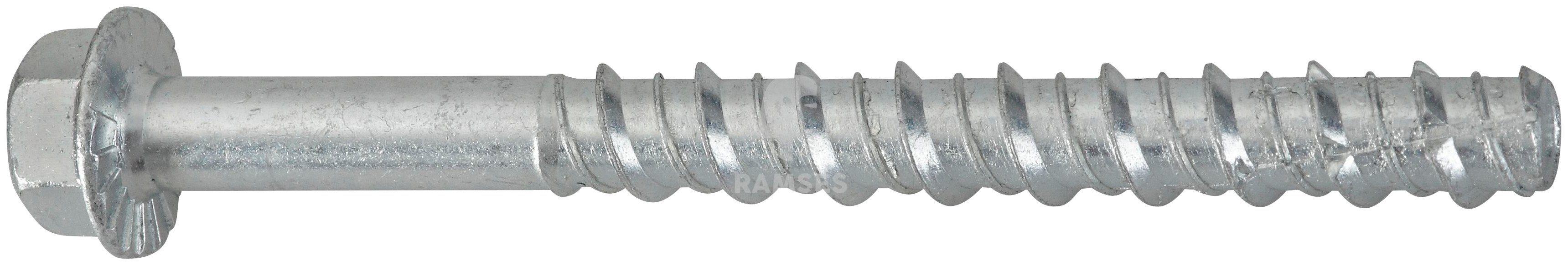 RAMSES Schrauben , Betonschraube 10 x 140 mm25 Stk.