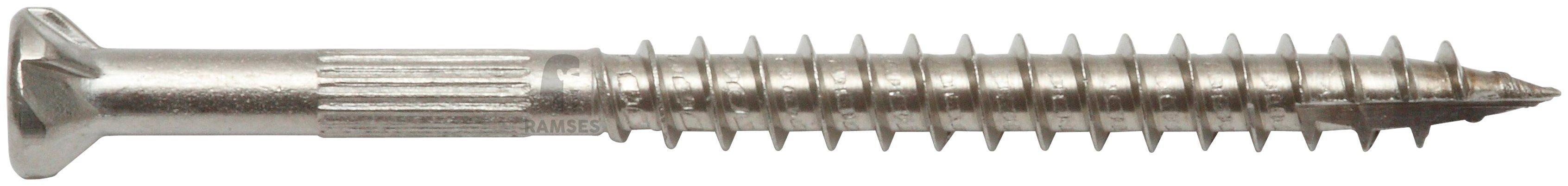 RAMSES Schrauben , Zaunschraube 4,5 x 40 mm mit Bit 150 Stk.