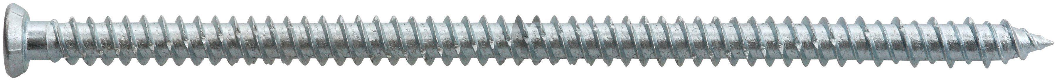 RAMSES Schrauben , Fensterrahmenschraube 7,5 x 132 mm 50 Stk.