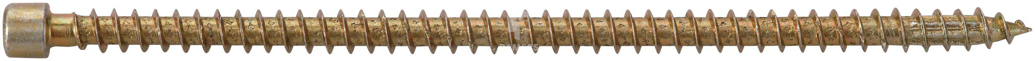 RAMSES Schrauben , Holzbauschraube 8 x 350 mm 50 Stk.