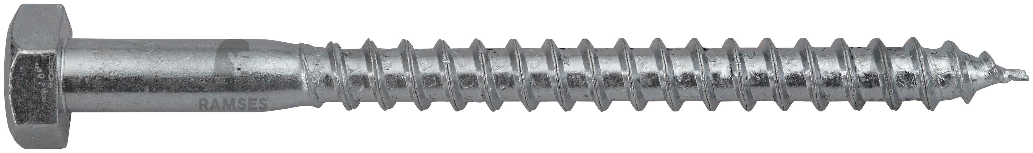 RAMSES Schrauben , Sechskant-Holzschraube 12 x 70 mm 50 Stk.