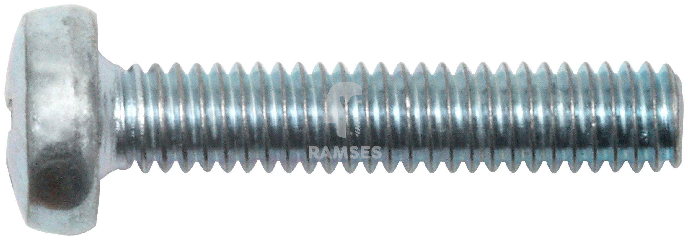 RAMSES Schrauben , Linsenschraube DIN 7985 M4 x 50 PH2 100 Stk.