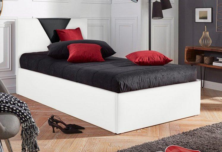 Westfalia Schlafkomfort Polsterbett »Malibu«, wahlweise mit Bettkasten, Kunstlederbezug