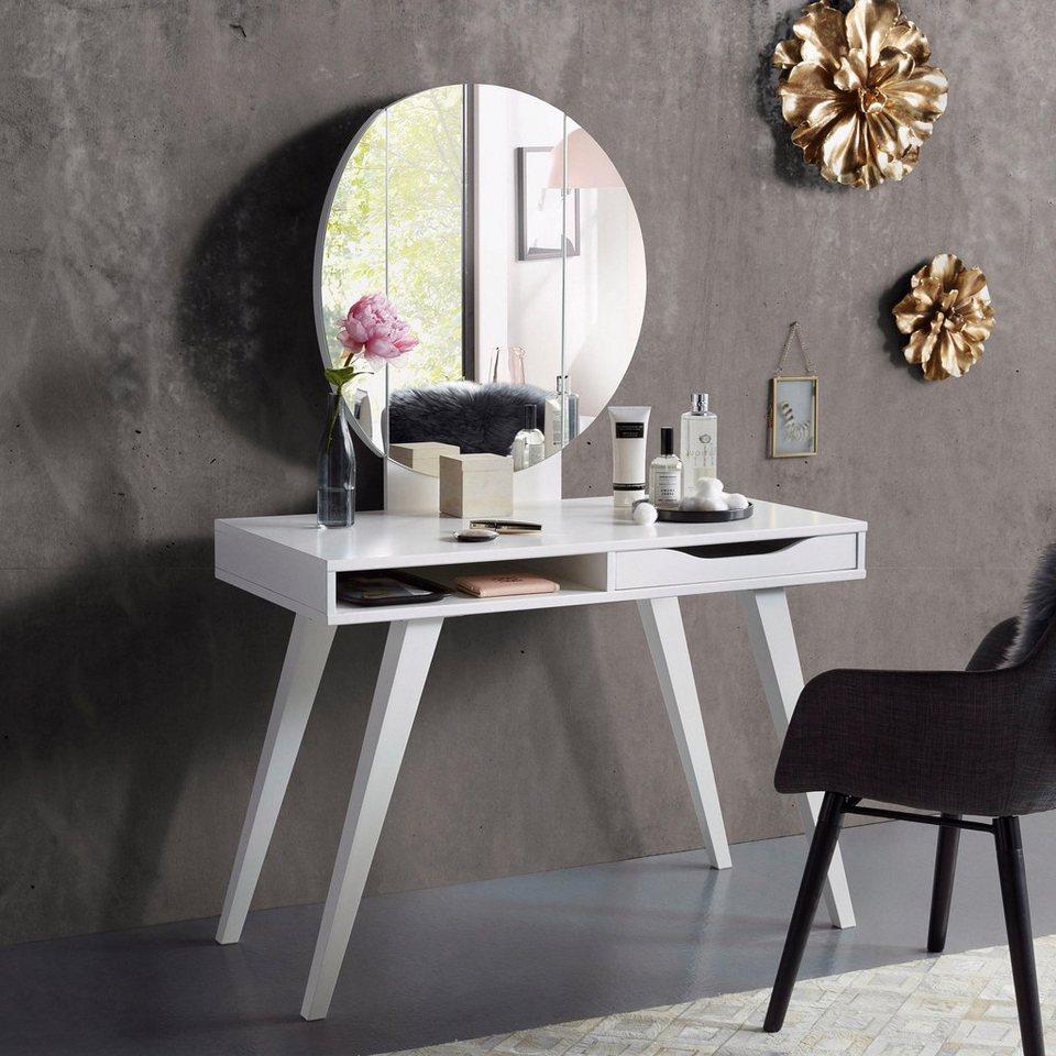 inosign schminktisch mit klappbarem spiegel und schublade online kaufen otto. Black Bedroom Furniture Sets. Home Design Ideas