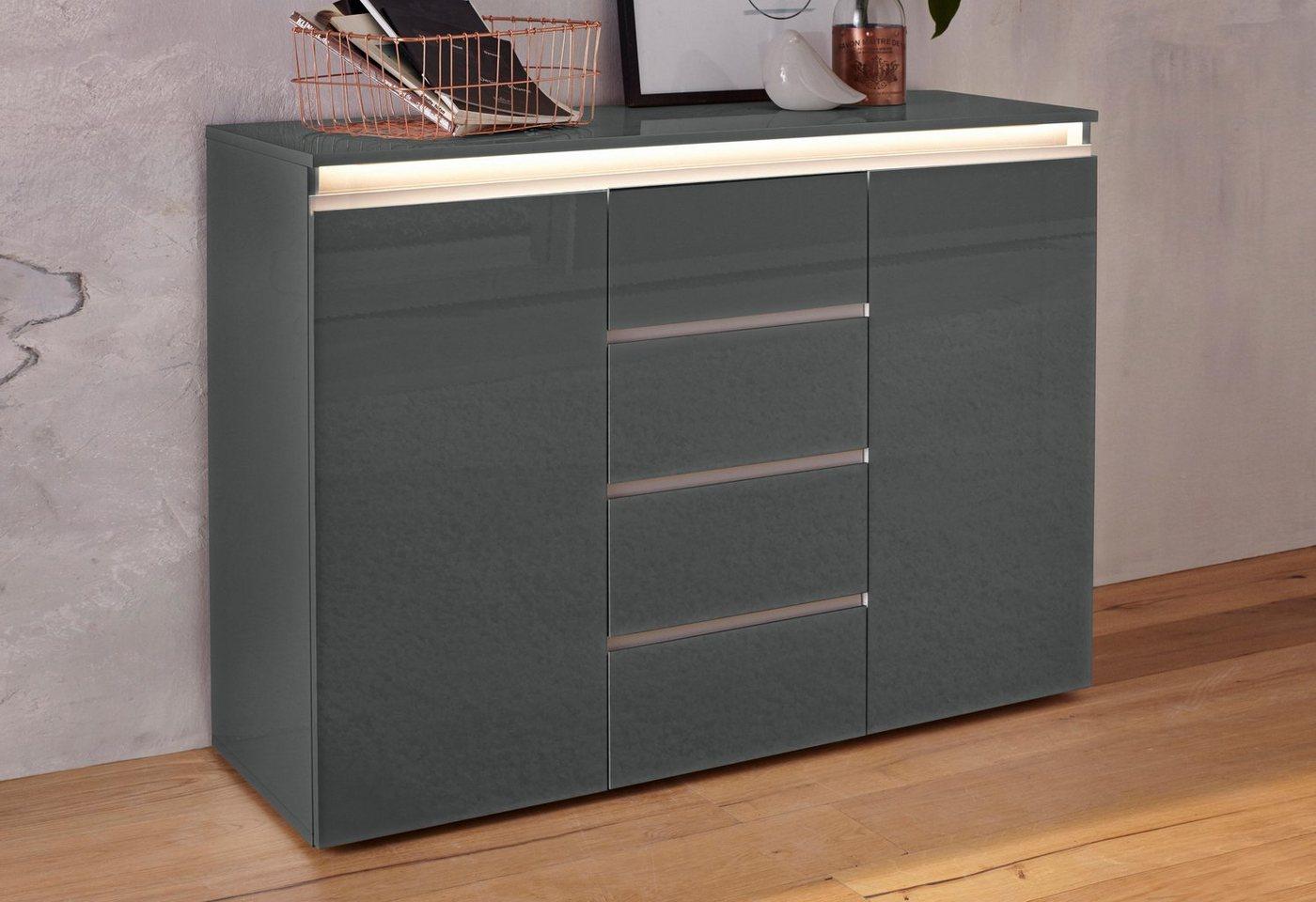 Kommoden, Sideboards und Schminktische - Tecnos »Mailand« Kommode, Breite 120 cm  - Onlineshop OTTO