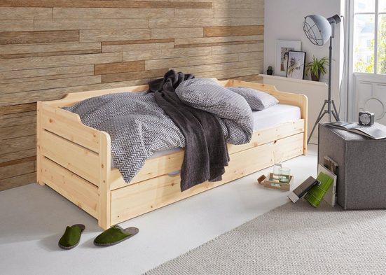Home affaire Daybett »Reete«, mit 2. Schlafgelegenheit und Rollrost