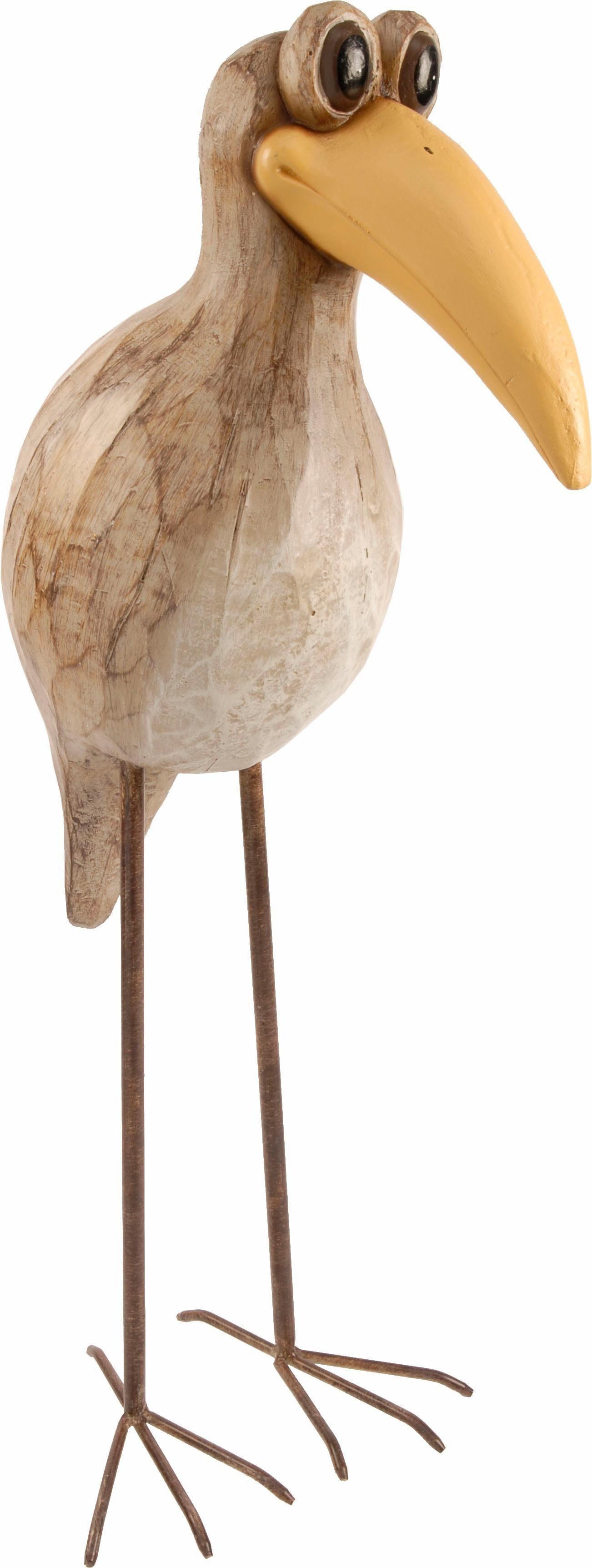 Home affaire Dekofigur »Vogel 63 cm«
