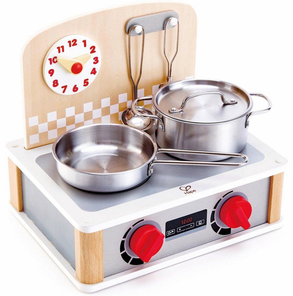 Hape Kinder-Herd »2-in-1 Küchen- & Grill-Set, 6-tlg.« online kaufen | OTTO